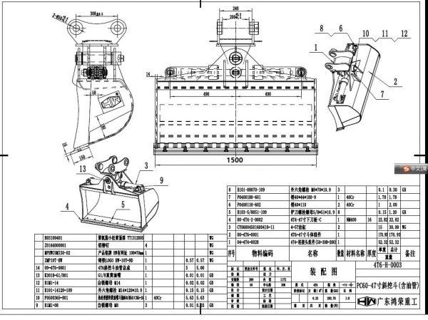 TBK-pc60-1500 chart